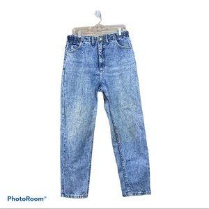 Vintage 80,90s Lee Acid Wash High Waisted Jean Pants